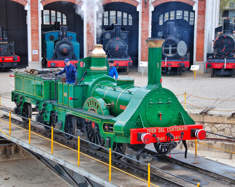 Museu del Ferrocarril de Catalunya © Ajuntament de Vilanova i la Geltrú