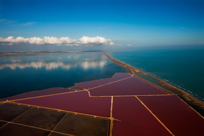 Delta de l'Ebre Salines de la Trinitat © Yann Arthus Bertrand