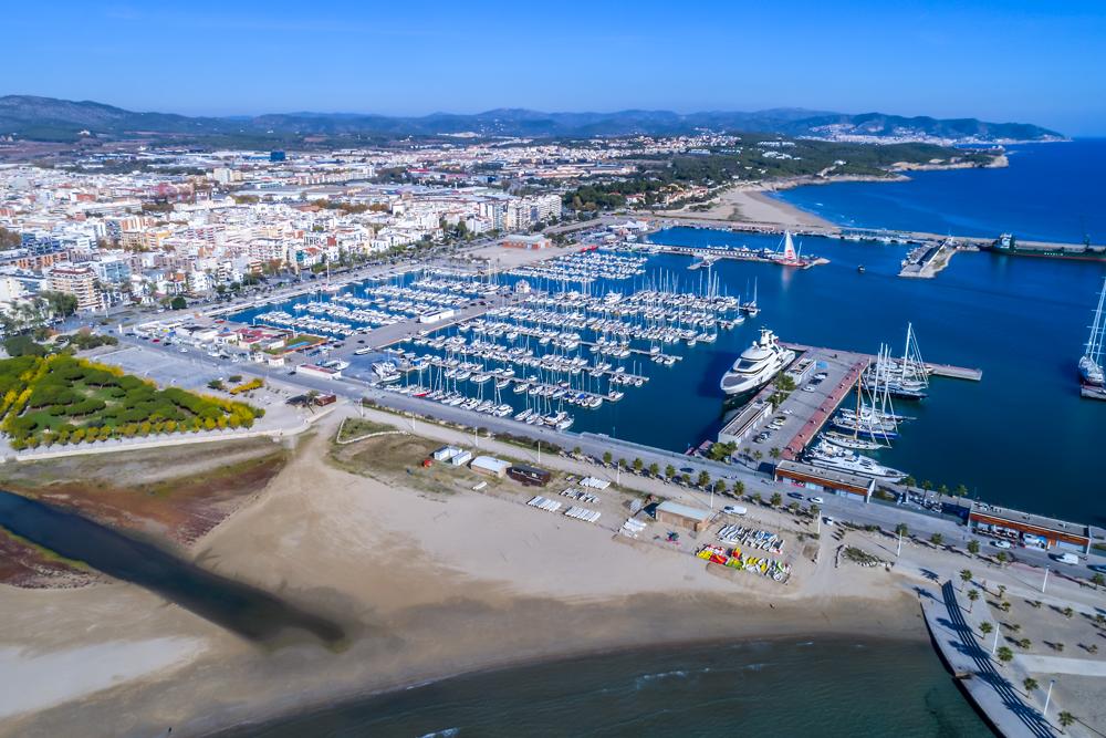 Port esportiu - comercial i pesquer © Ajuntament de Vilanova i la Geltrú