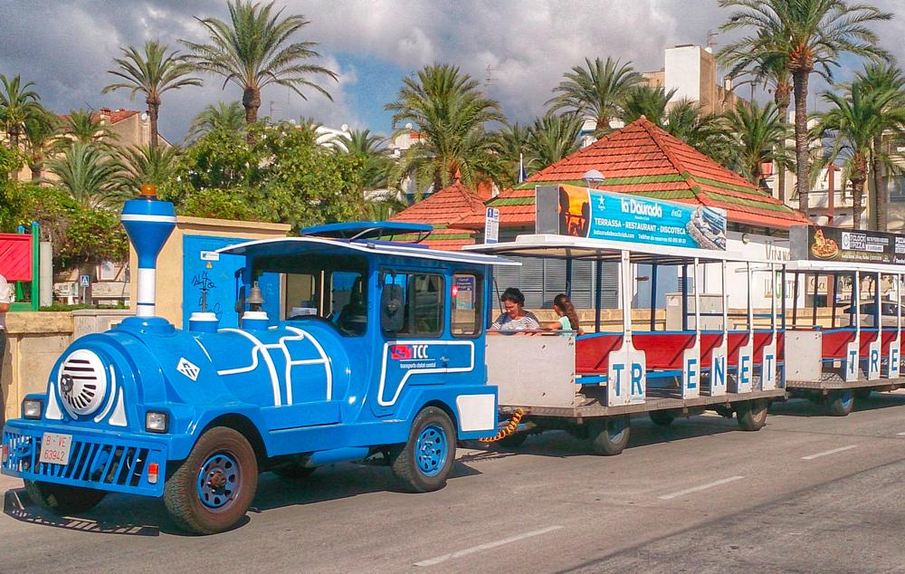 Trenet turístic © Ajuntament de Vilanova i la Geltrú