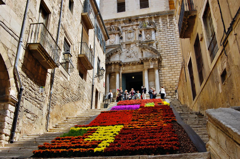 Catedral_Temps de Flors © Ajuntament de Girona - Ruben Garcia