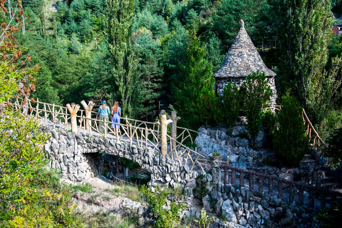 Les jardins d'Artigas et l'imagination de Gaudí