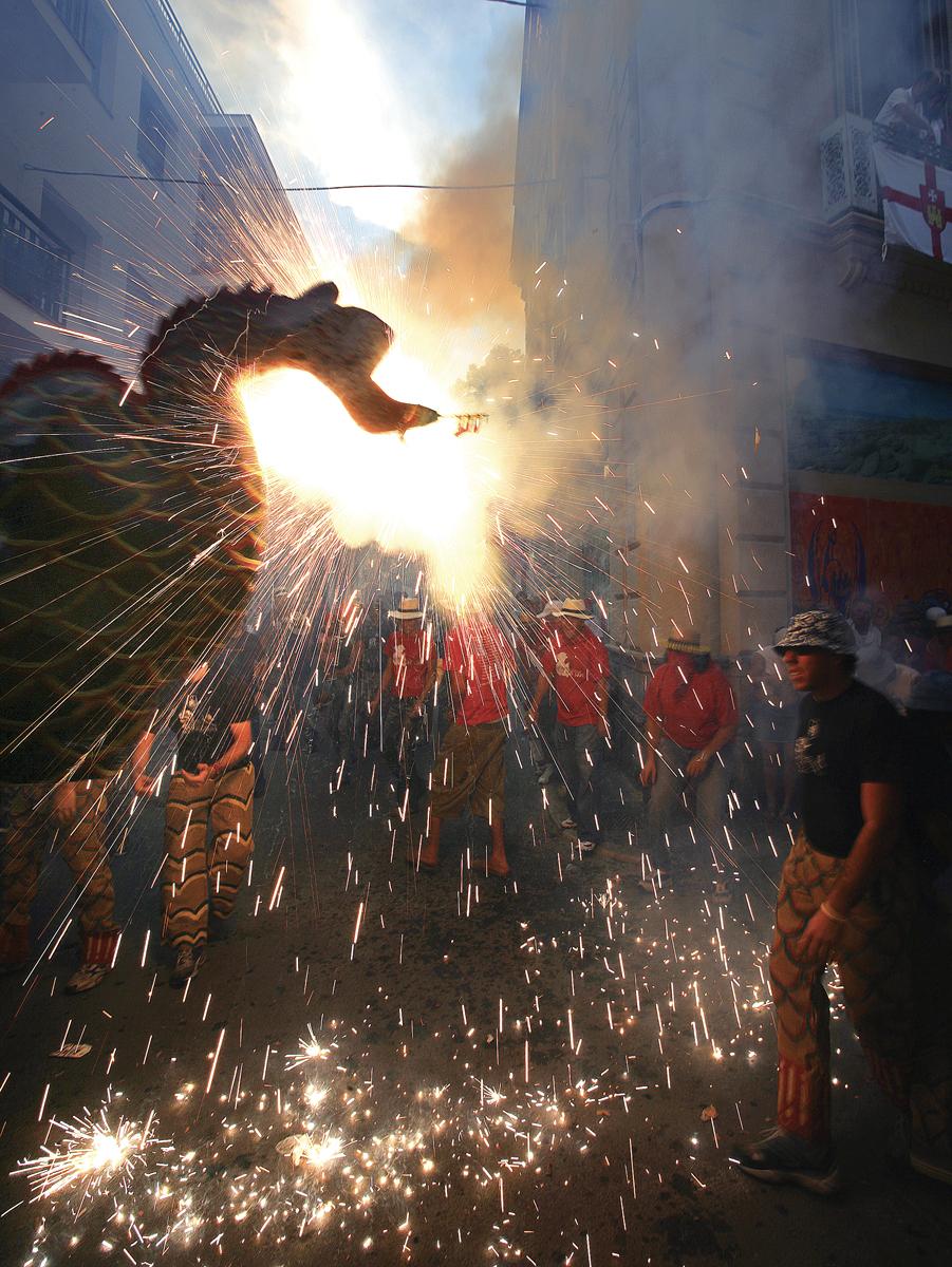Correfoc a la Festa Major de Sitges © Miguel Angel Alvarez