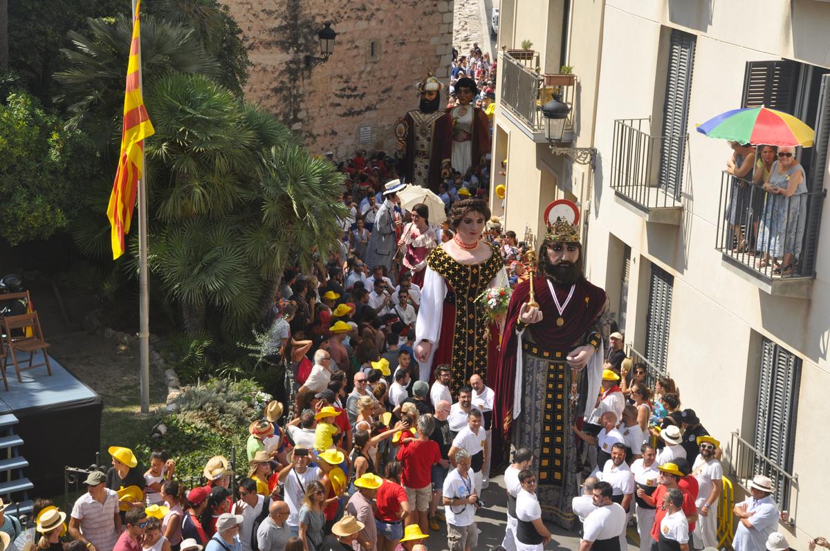 Gegants de Sitges © Ajuntament de Sitges