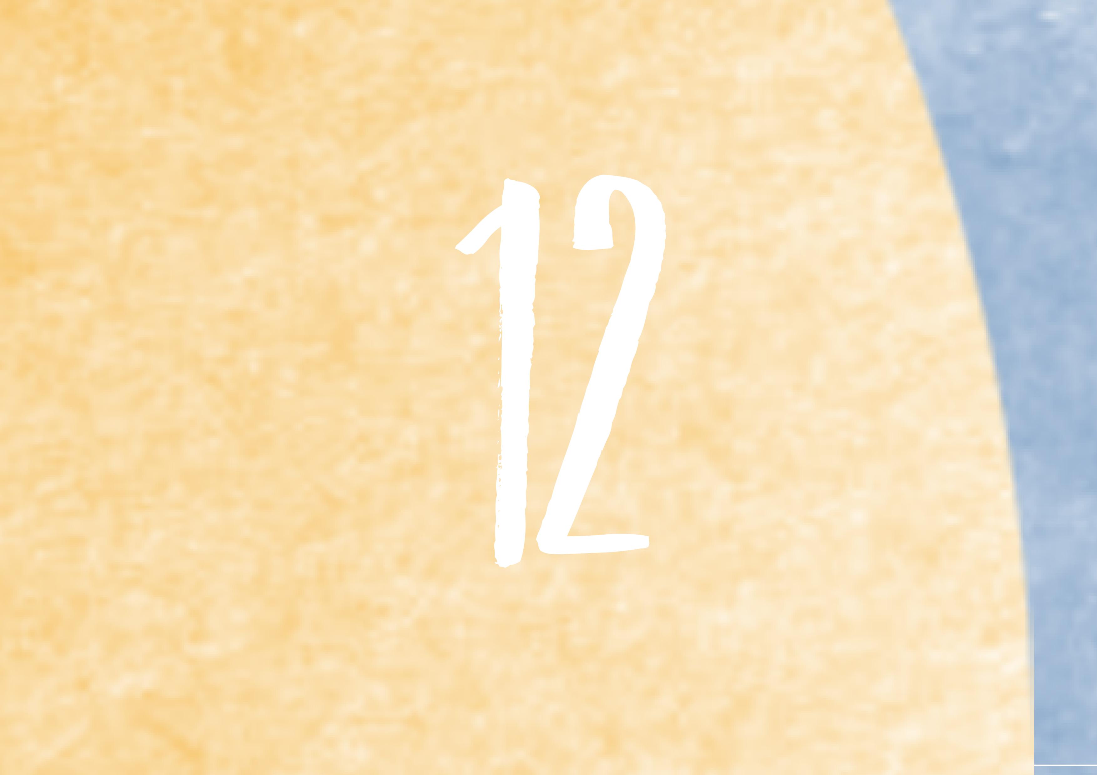 Calendrier de l'avent - 12