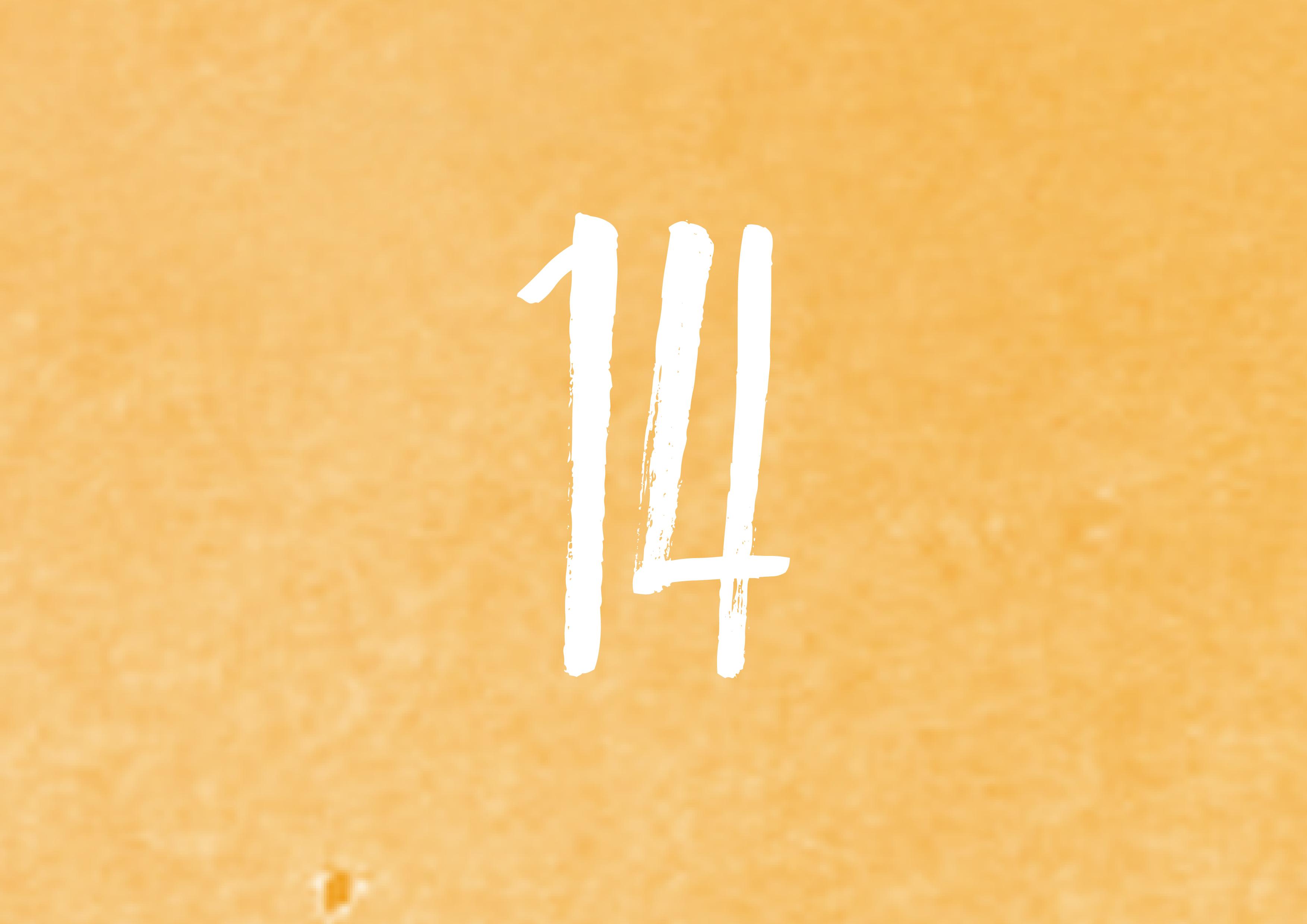Calendrier de l'avent - 14
