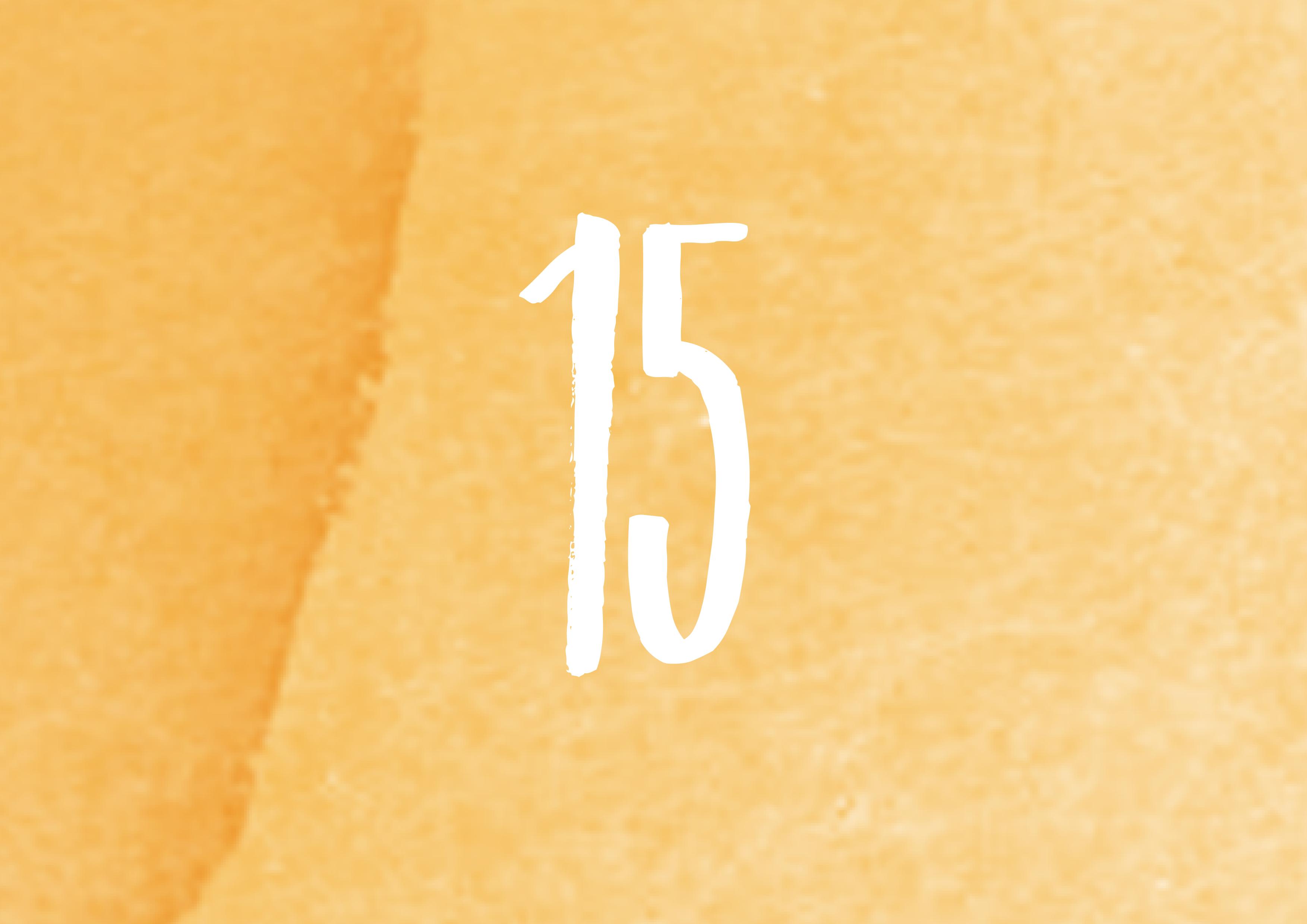 Calendrier de l'avent - 15
