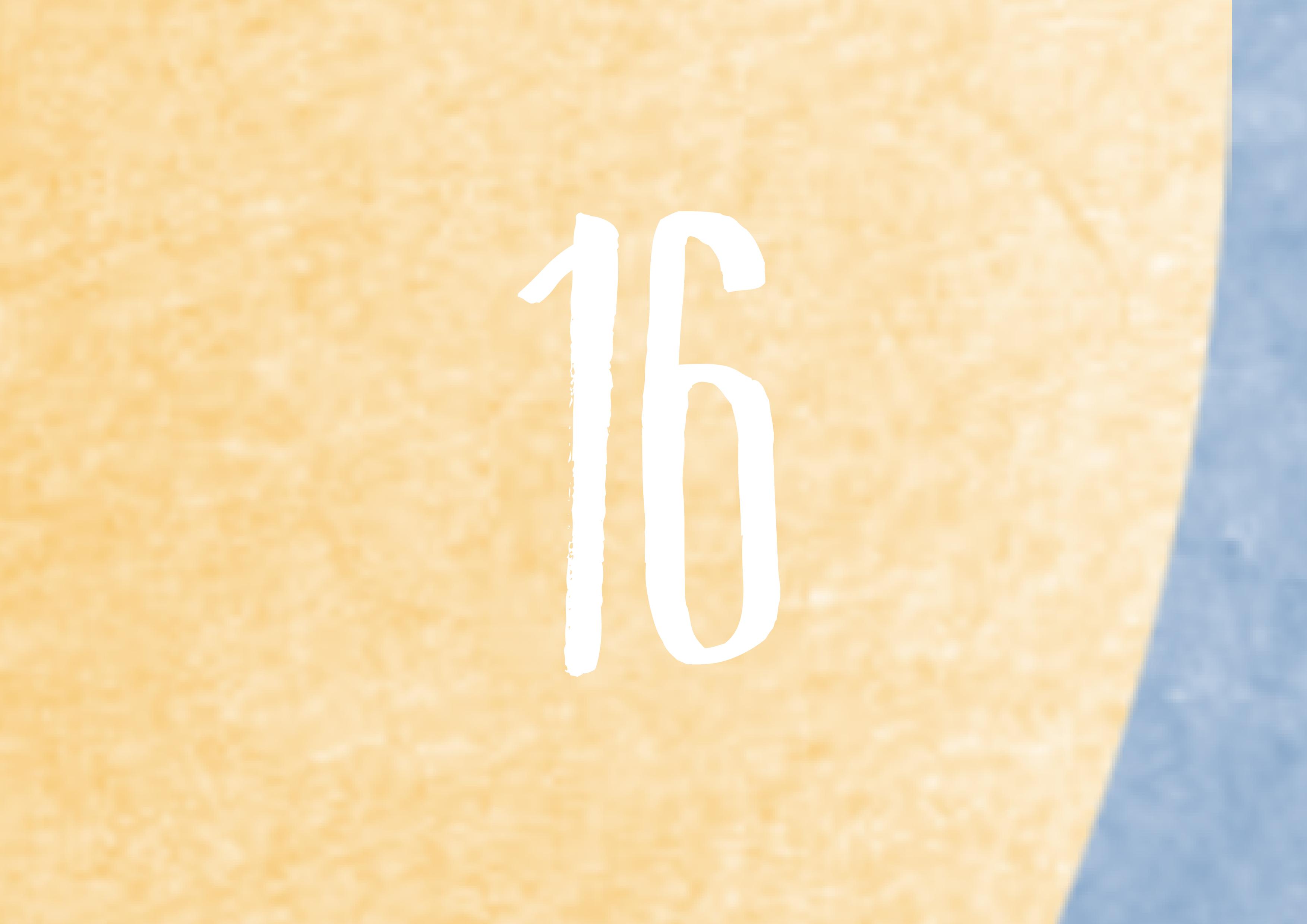 Calendrier de l'avent - 16