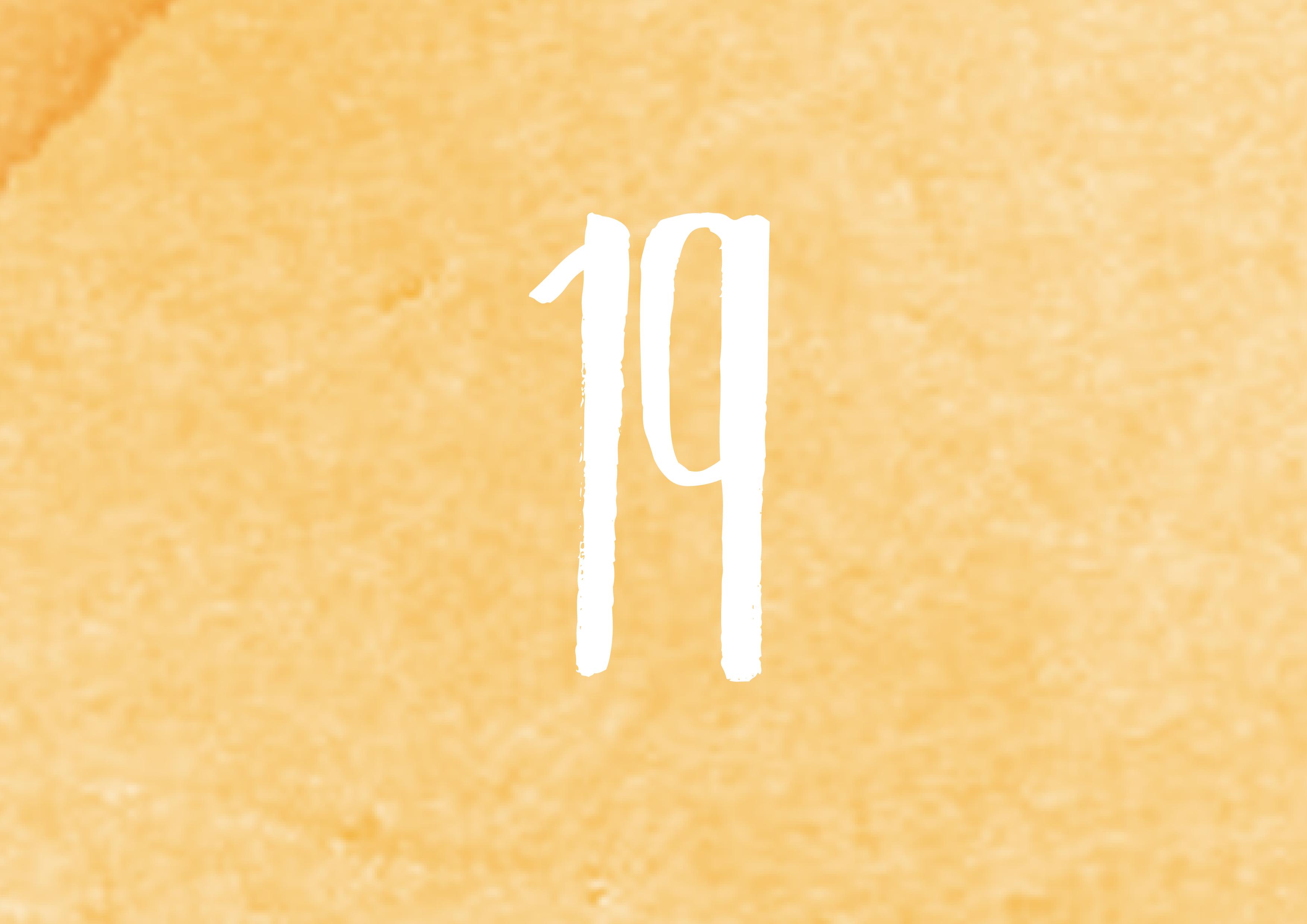 Calendrier de l'avent - 19