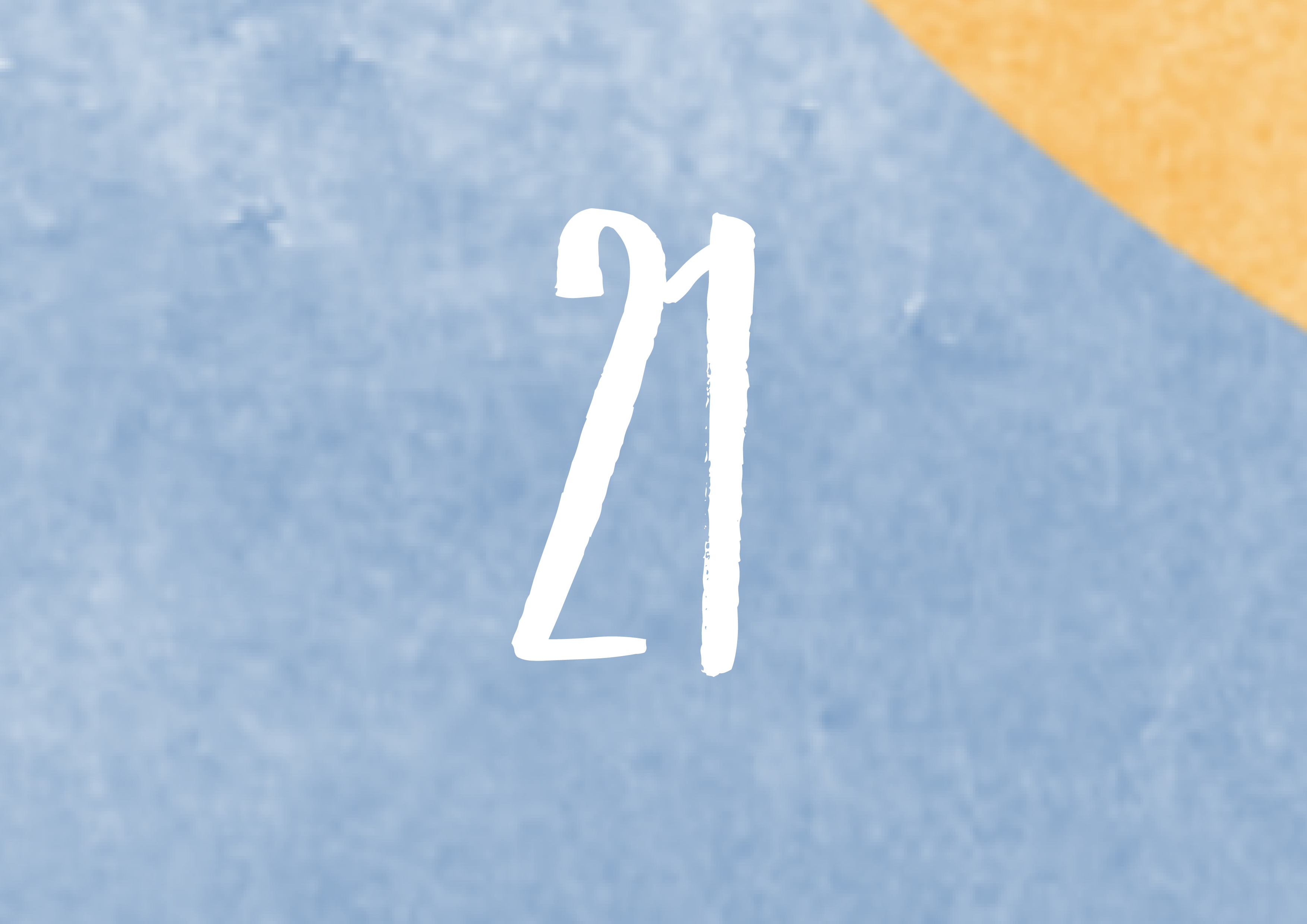 Calendrier de l'avent - 21