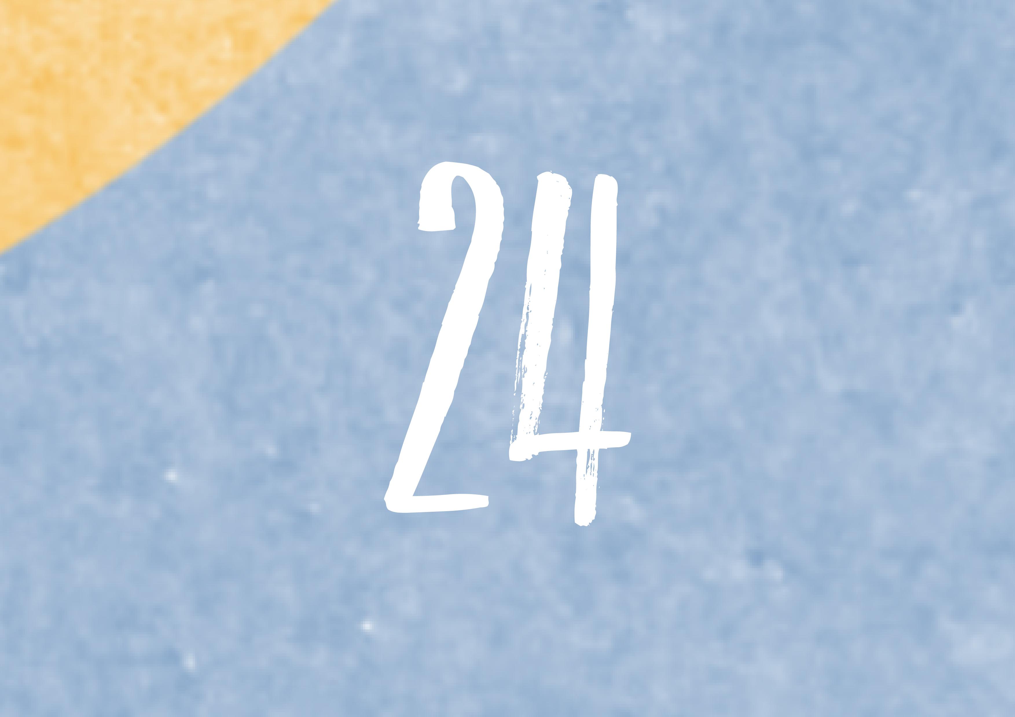 Calendrier de l'avent - 24
