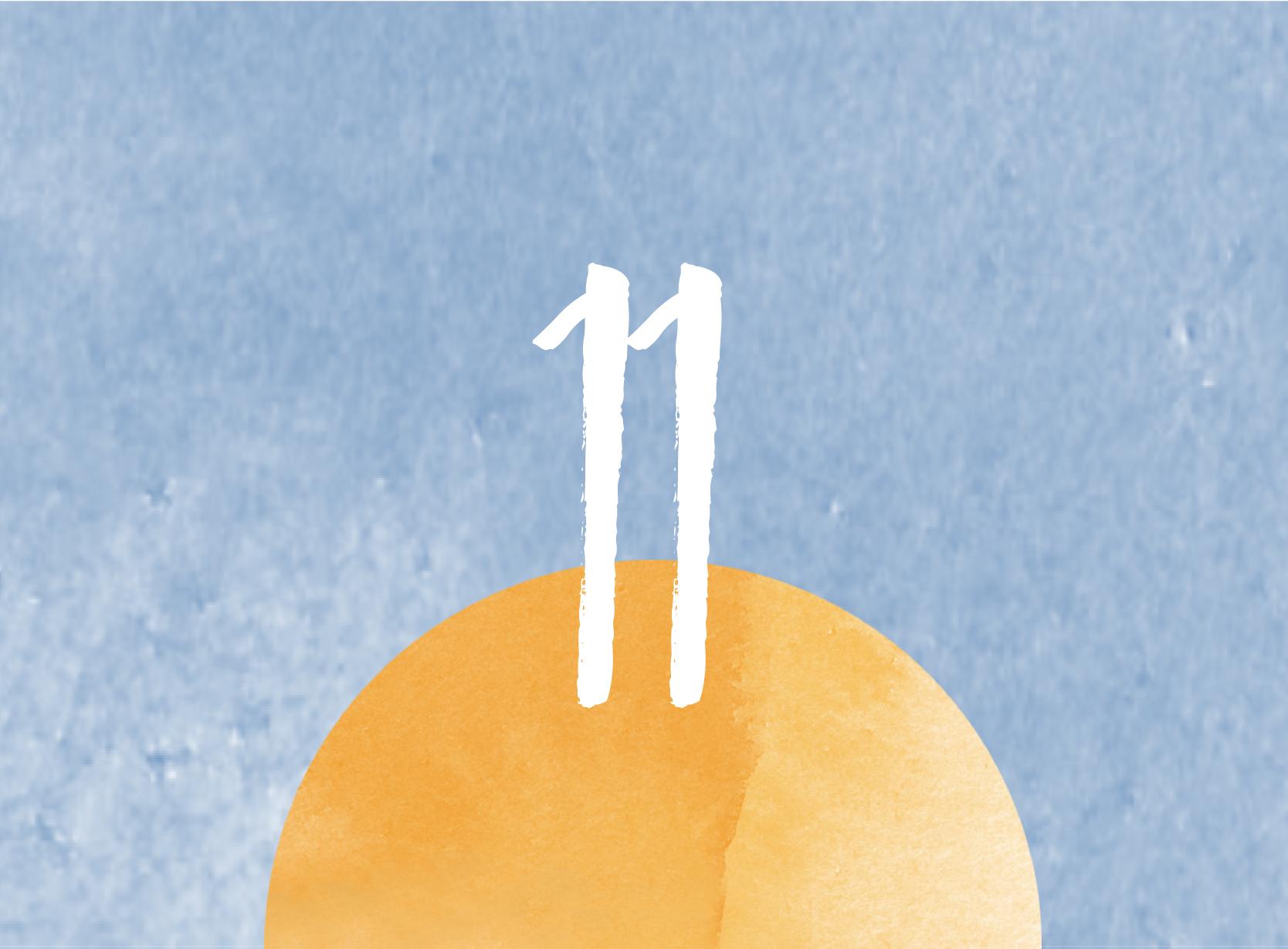 Calendrier de l'avent - 11