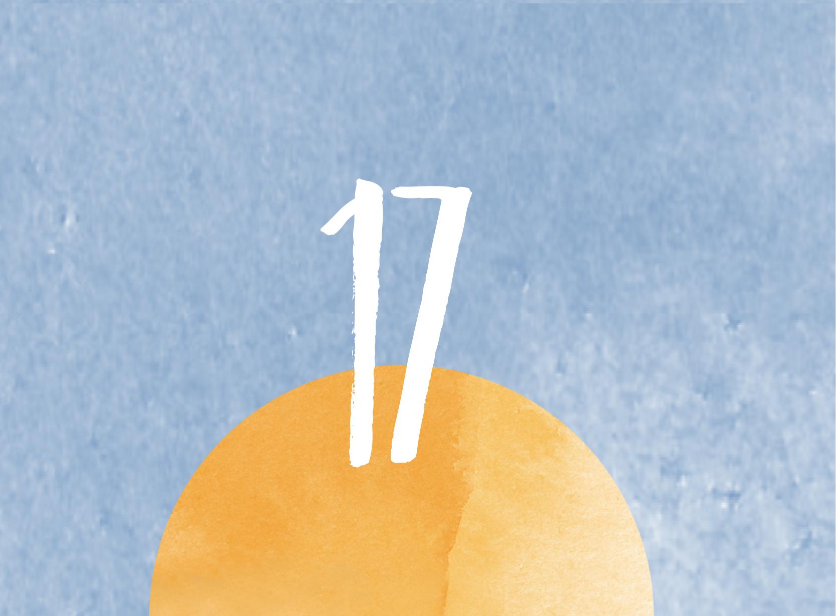 Calendrier de l'avent - 17