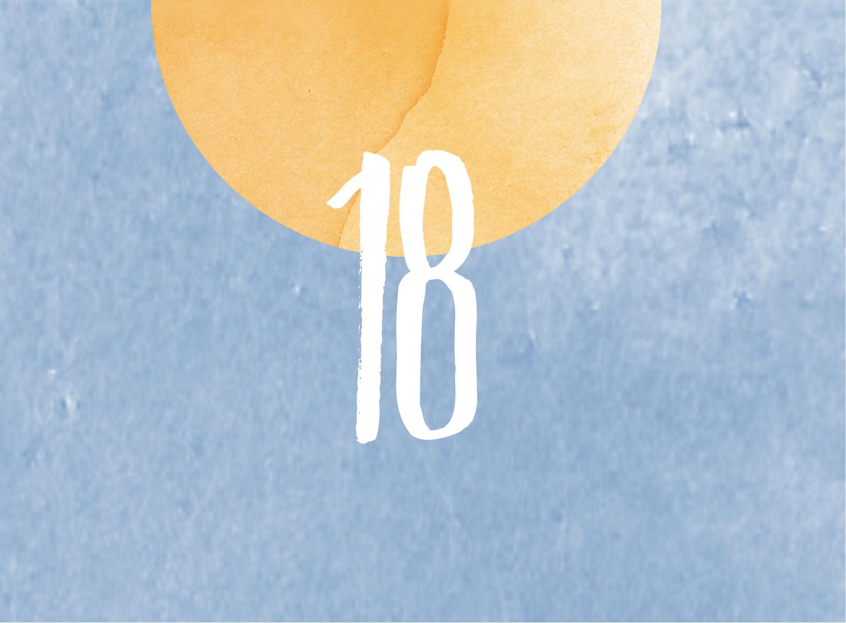 Calendrier de l'avent - 18