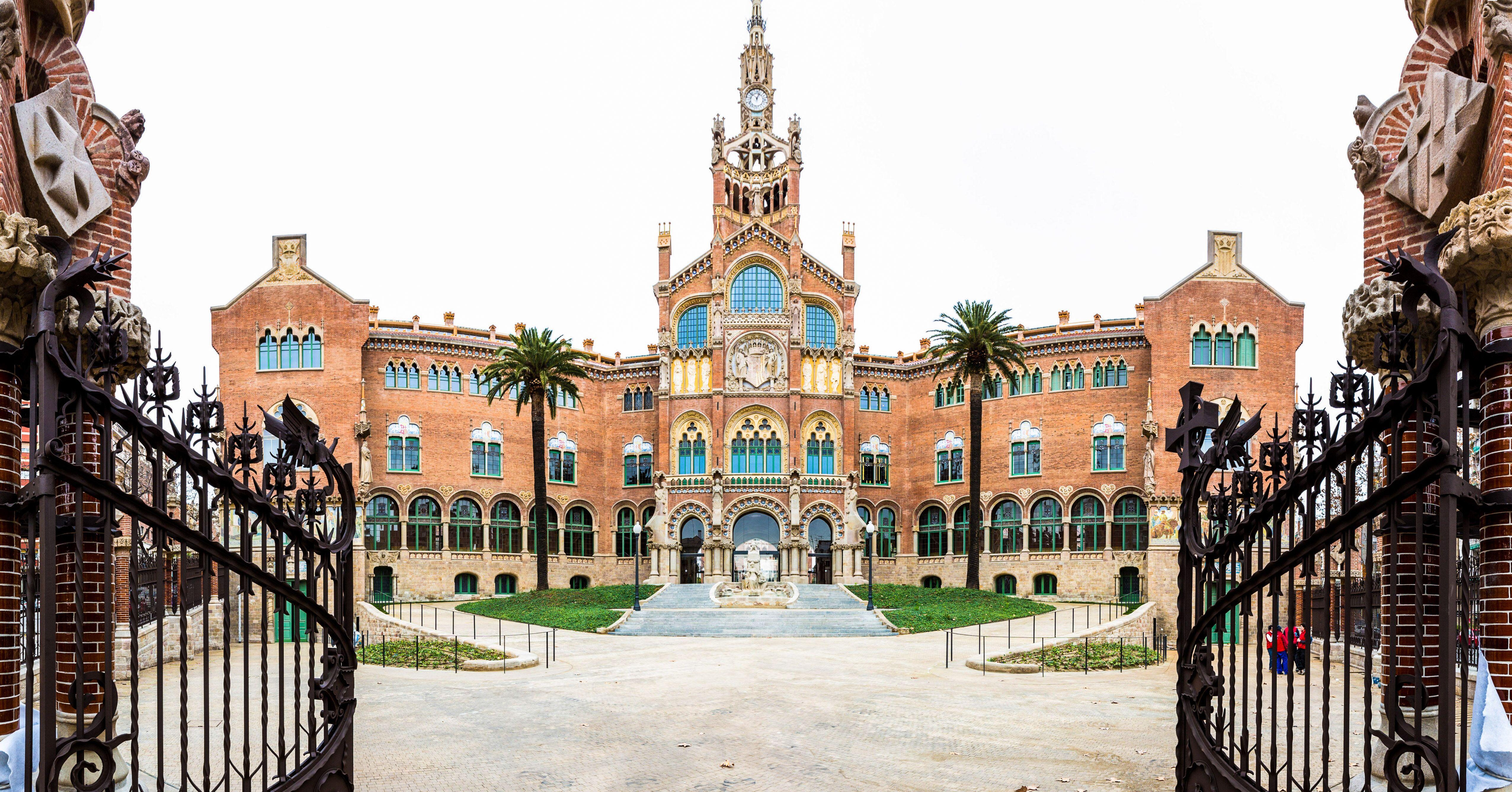 Hospital de Sant Pau © Hospital de la Santa Creu i Sant Pau