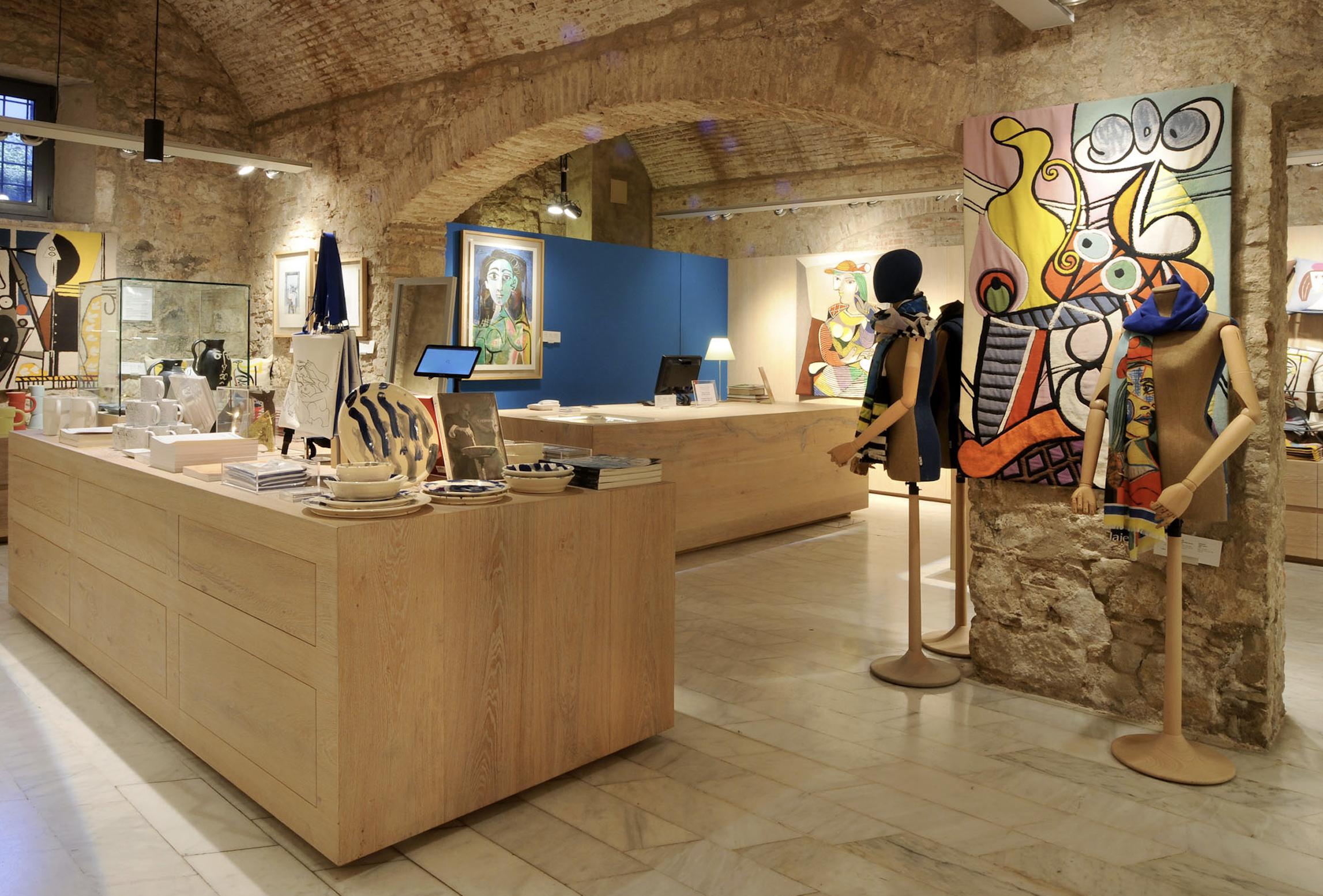Boutique du Musée Picasso © Turisme de Barcelona