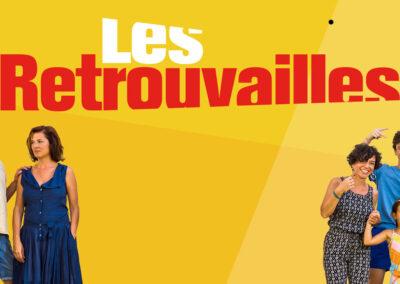 La webserie Les Retrouvailles, vacances en famille en Catalogne