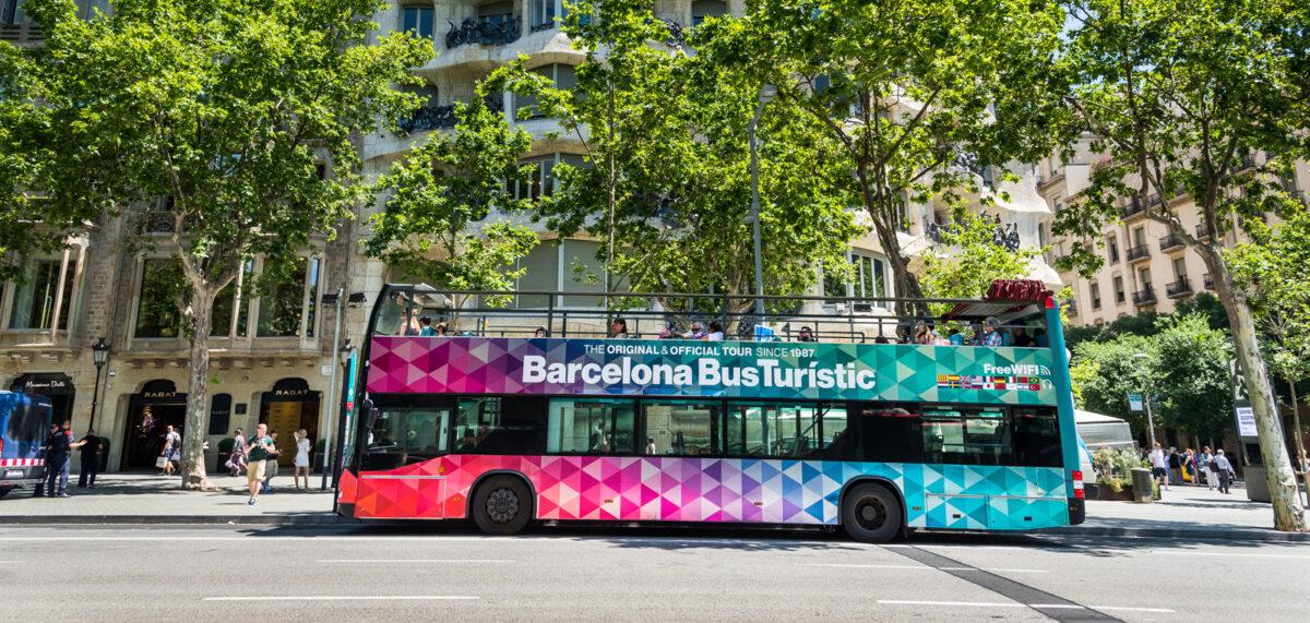 Barcelona Bus Turistic Pedrera Barcelone