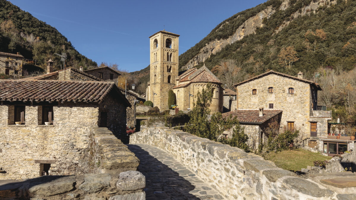 Eglise Sant Cristofol Beget Christopher Willan Photography Act