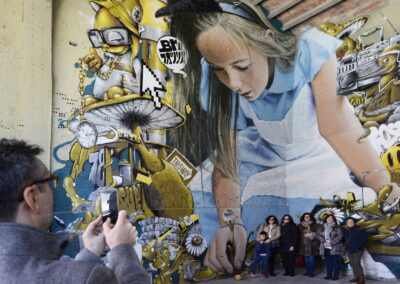 Penelles, la destination street-art de Catalogne