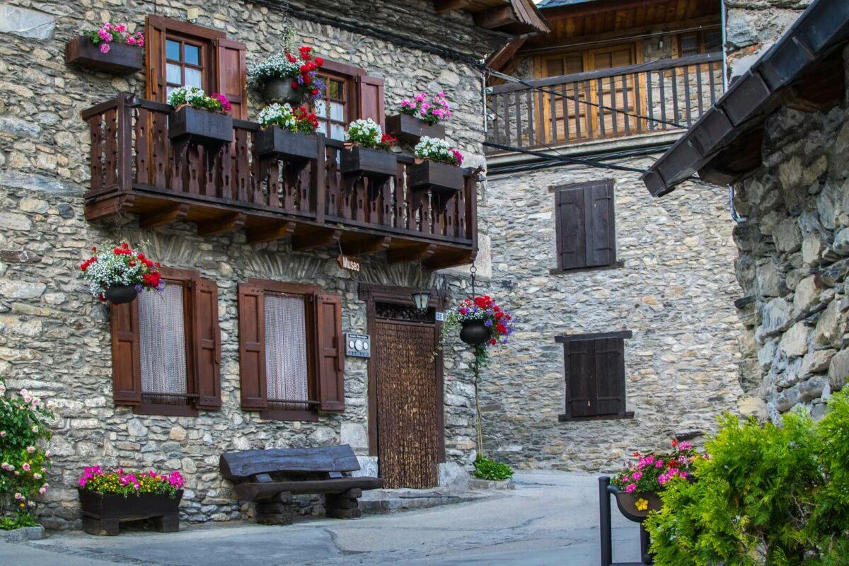 Bagergue - Rue Village - Val d'Aran - Catalogne - village de charme