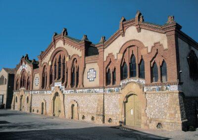 Les caves à vin modernistes de Catalogne