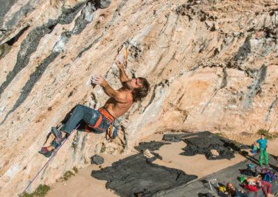 Escalade dans les Terres de Lleida avec Chris Sharma