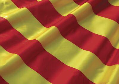 Le drapeau catalan