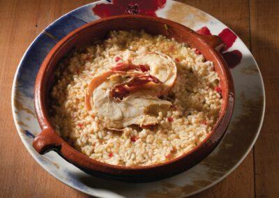 Les plats à base de riz